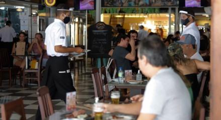 Reabertura, Movimentação, Bares, Restaurantes, Fiscalização, Economia, Covid - 19, Coronavírus, Novo Coronavírus.