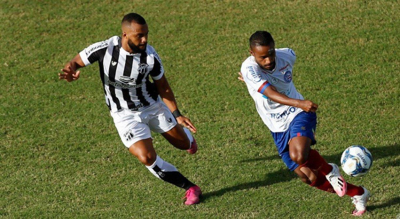 TV Jornal transmite Bahia x Ceará valendo o título da Copa do Nordeste