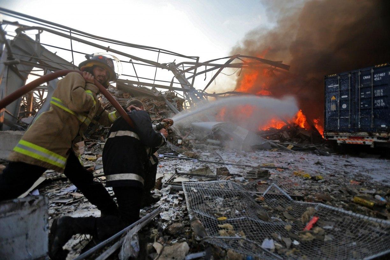 Brasileira em Beirute achou que explosões fossem terremoto