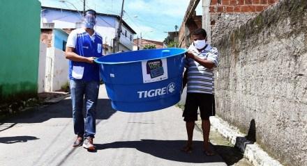 A ação acontece em uma parceria entre a Compesa e as empresas Sabará, Grupo Tigre, por meio do Instituto Carlos Roberto Hansen e a FortLev
