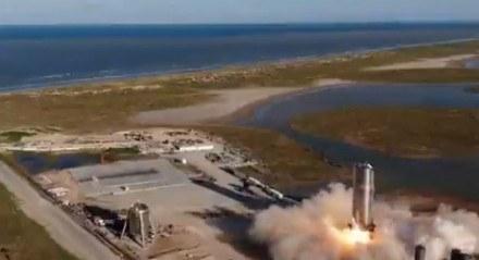 SpaceX testa com sucesso novo protótipo de futuro foguete para Marte