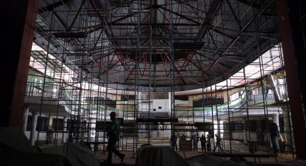 OBRAS Teatro do Parque deve ser entregue com todas as adequações até dezembro de 2020