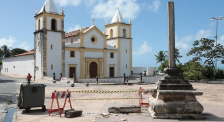 Vandalismo em crucifixo localizado em Olinda