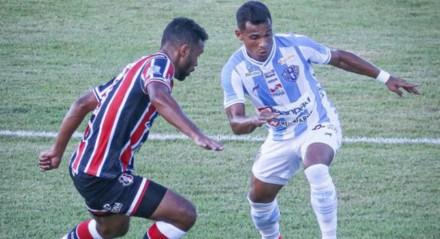 Paysandu e Santa Cruz ficaram no empate em 0x0 na estreia da Série C