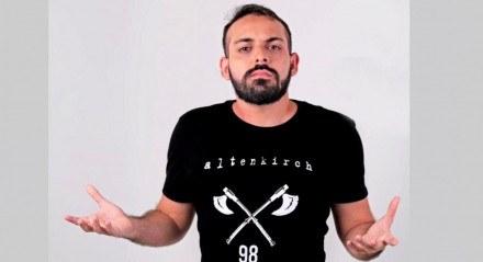 Ítalo Sena é dono do canal Ta Gravando, no YouTube
