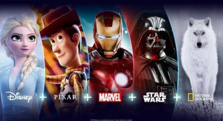 A plataforma Disney+ marcou estreia na América Latina para o mês de novembro