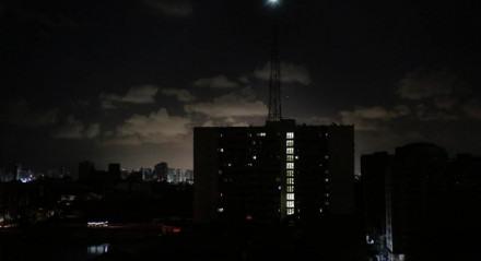 Apagão no Grande Recife nesta quinta-feira (13)