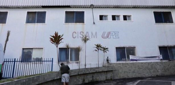 Fachada do prédio do CISAM
