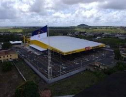 Rede pernambucana de atacarejo já possui lojas em Arcoverde, Carpina (foto) e Vitória de Santo Antão. O projeto prevê 15 unidades no Estado até 2023