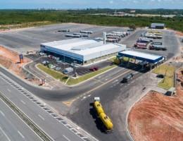 E-log Pátio de Triagem é um dos três empreendimentos credenciados pelo Porto de Suape para realização de operações de Triagem e Estacionamento de Caminhões destinados ou provenientes do Porto de Suape