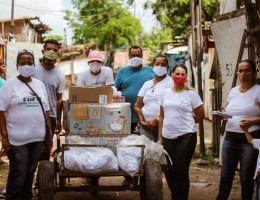 Cufa-PE já realizou diversas ações solidárias durante a pandemia