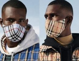 Burberry lança sua máscara com tecnologia antimicrobiana