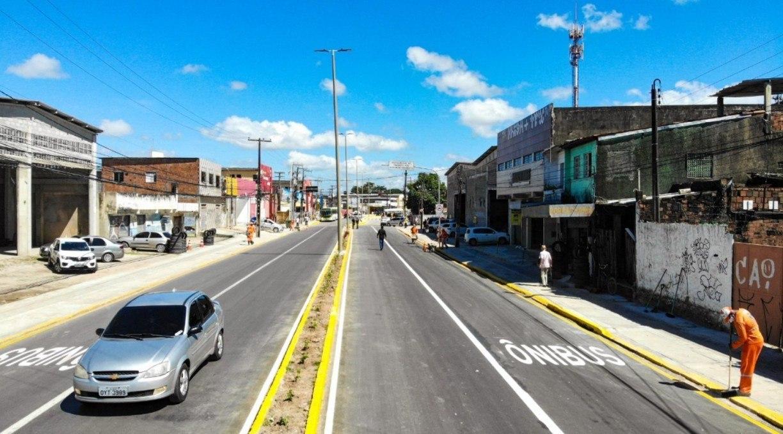 Segunda etapa da obra de requalificação da Presidente Kennedy em Olinda começa nesta quarta e provoca desvio