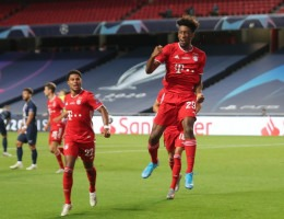 Coman marcou o gol aos 15 minutos do segundo tempo