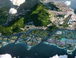 A ideia do governo da Malásia local é adicionar três novas ilhas ao estado, somando 1.821 novos hectares ao território