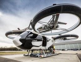 O veículo foi desenvolvido pela divisão responsável pelos helicópteros da AirBus