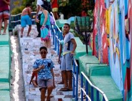 O projeto Mais Vida nos Morros é realizado através da Secretaria Executiva de Inovação Urbana do Recife