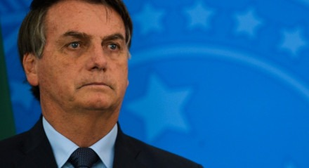 O presidente da República, Jair Bolsonaro, e o ministro da Economia, Paulo Guedes, participam de coletiva de imprensa no Palácio do Planalto