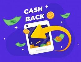 O cashback é um método de compras que possibilita ao cliente recuperar parte do dinheiro gasto