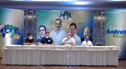 Em uma transmissão online, o PRTB oficializou a candidatura de Marco Aurelio para a Prefeitura do Recife