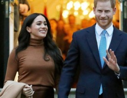Ex-casal real, Harry e Meghan Markle