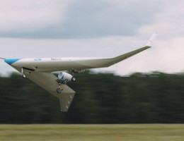 Avião em V