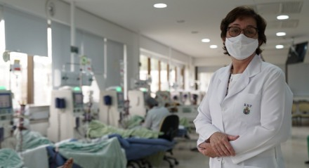 Luciene Melo, gerente do SUS no Hospital Português