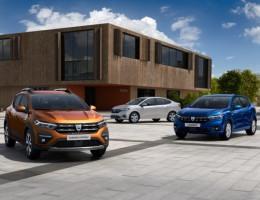 modelos Renault Sandero, Stepway e Logan