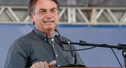 (São Desidério - BA, 11/09/2020) Palavras do Presidente da República, Jair Bolsonaro.