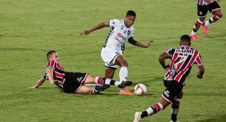 13.09.2020 - Santa Cruz x Remo - Pelo Campeonato Brasileiro da Série C no Estádio do Arruda.