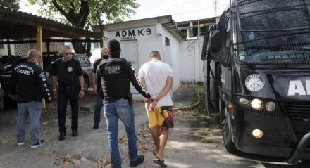 CORE deflagrou na manhã desta terça (15) a Operação Returno que prendeu integrantes da torcida Jovem.