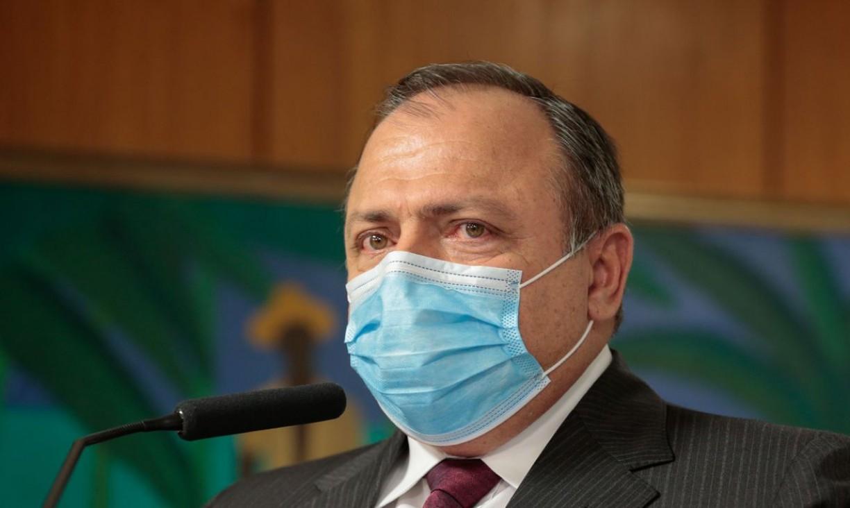 Ministro da Saúde, Eduardo Pazuello cancela agenda da semana com suspeita de covid-19