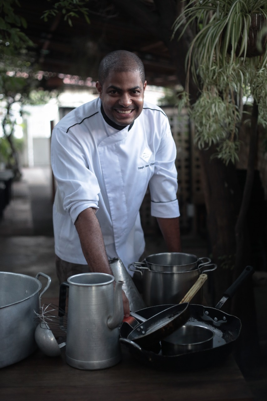 Reteteu, do chef Thiago Chagas, incuba o projeto Severina e apresenta novidades