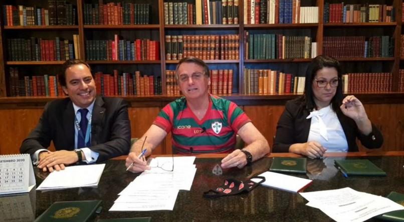 Jair Bolsonaro/Facebook