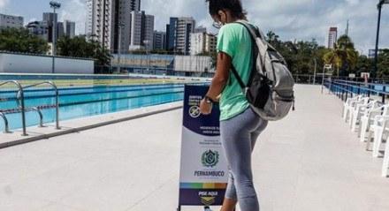 Piscina do Centro Esportivo Santos Dumont receberá primeira competição do País durante pandemia