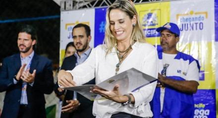 Isabella de Roldão, candidata a vice-prefeita do Recife na chapa de João Campos