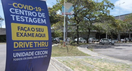 Centro de testagem Covid-19, unidade CECON. - CORONAVÍRUS.