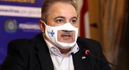 Secretário de Saúde de Pernambuco, André Longo, coletiva online covid coronavírus pandemia