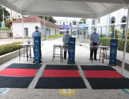Preparação para volta às aulas no colégio Damas