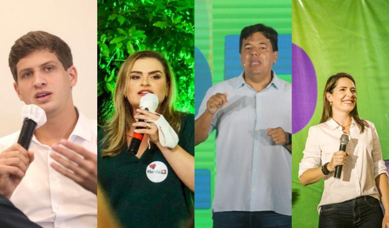 João líder entre jovens; Mendonça bem entre os mais velhos; Marília e Patrícia crescem eleitorado mais escolarizado