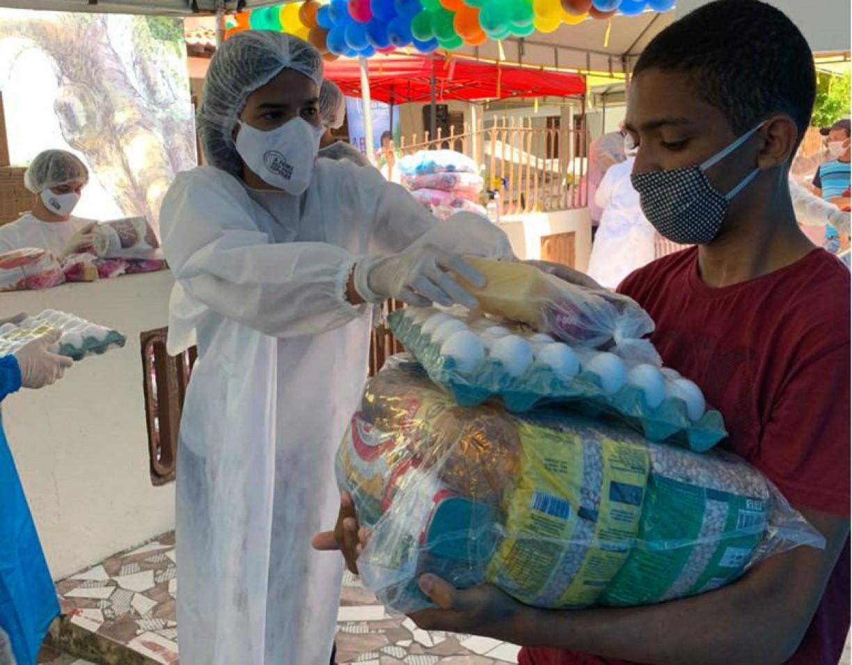 Em edição do Dia das Crianças, campanha A Fome Não Pode Esperar doa 60 toneladas de alimentos em Tamandaré