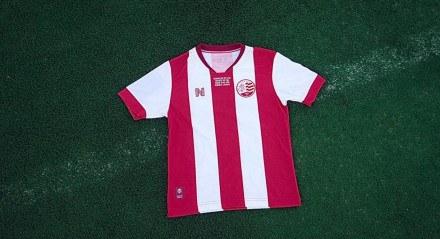 A nova camisa do Náutico foi desenhada pelo torcedor alvirrubro Pedro Santana