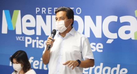Mendonça Filho (DEM) e Priscila Krause (DEM) apresentam proposta de congelamento do IPTU e da Taxa de Resíduos Sólidos durante coletiva de imprensa virtual