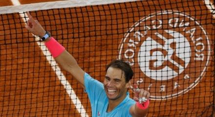 Rafael Nadal conquistou o título deª vez Roland Garros pela 13 vez
