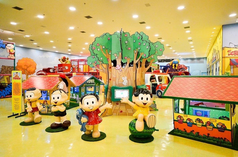 Estação Turma da Mônica volta a funcionar no Shopping Patteo Olinda, na RMR