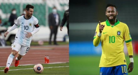Messi e Neymar podem se enfrentar em Pernambuco dependendo da confirmação da CBF