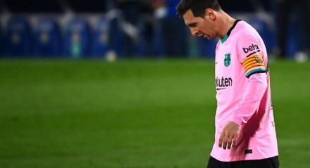 Barcelona, de Messi, perdeu para o Getafe
