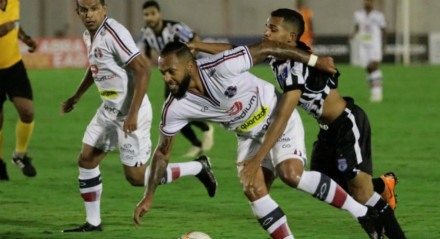 Paulinho se recuperou de lesão, entrou contra o Treze e deve ser titular do Santa Cruz diante do Botafogo-PB