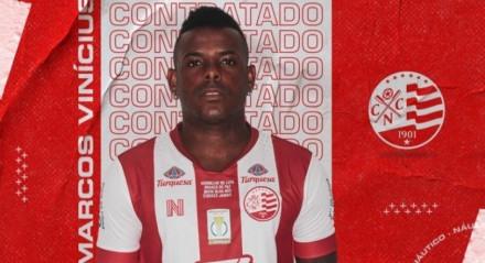 Náutico, futebol, esportes, Marcos Vinícius