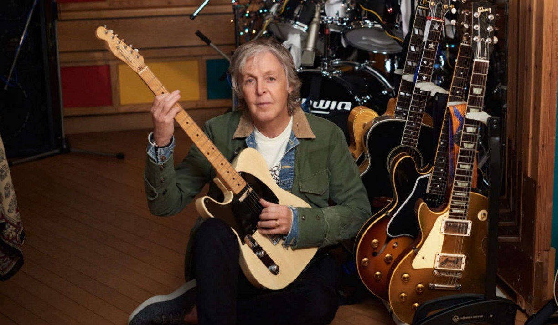 Paul McCartney álbum gravado sozinho durante pandemia